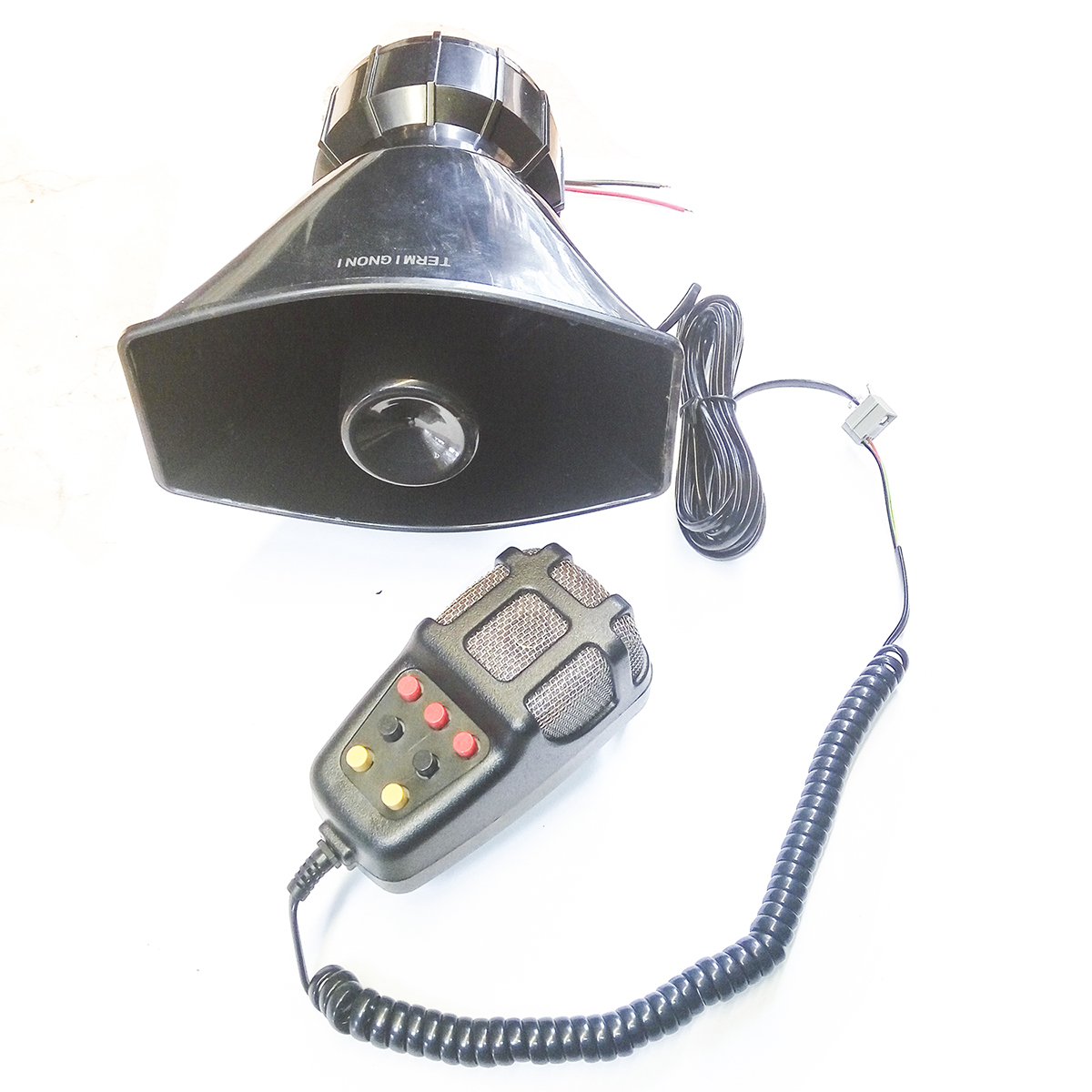 Buy Sell Cheapest Toa 7 Suara Best Quality Product Deals Alarm Sirine 6 Termignoni Klakson 12v Microphone Ukuran Super Big Besar