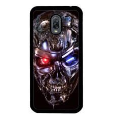Terminator Robot Skull Y2128 Samsung Galaxy J7 Plus Custom Hard Case Jawa Tengah Diskon 50