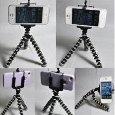 (Termurah) Gorilla Tripod + Holder U for Universal HP Flexible - Gorillapod Gorila Pod
