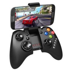 Termurah !! Ipega Mobile Wireless Gaming Controller Bluetooth 3.0 for Android and iOS - PG-9021 - Black / Hitam Stick Controler Permainan Game Gaming Hp Handphone Berkualitas