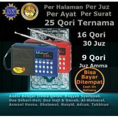 Termurah! Speaker Portable Murottal Al Quran Alquran 25 Qori Radio Model