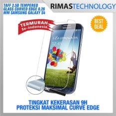 Termurah !! Zilla 2.5D Tempered Glass Curved Edge 9H 0.26mm for Samsung Galaxy S4 / GT-i9500 - Anti Gores Screen Guard Pelindung Layar Ponsel Hp Smartphone 0.26 Mm