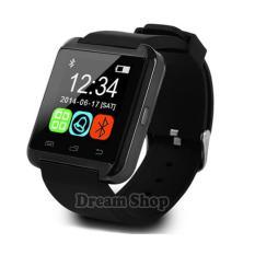 Termurah U8 Smartwatch Android Dan ios |  Jam Tangan Awet Terbaru Rubber Strap - Warna Hitam | Dream Shop