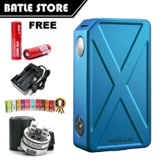 Harga Tesla Invader Iii 240W Authentic 100 Mod Premium Adjustable Biru Free Rda Tsunami Awt Battery Original Charger Liqua Random Fullset Murah