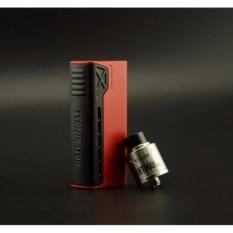 Tesla Terminator 90W Vape Vapor Rokok Elektrik Starter Kit + RDA Antman 22 - Red