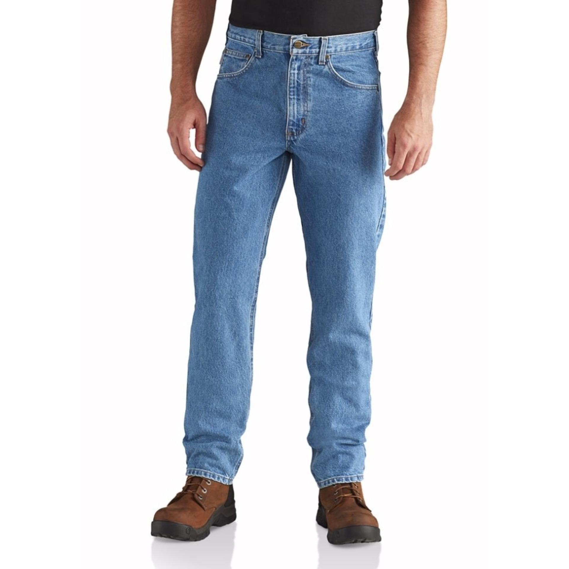 Toko Texan Celana Jeans Standard Pria Warna Biru Muda Light Blue Celana Jeans Big Size 33 34 35 36 37 38 Dekat Sini