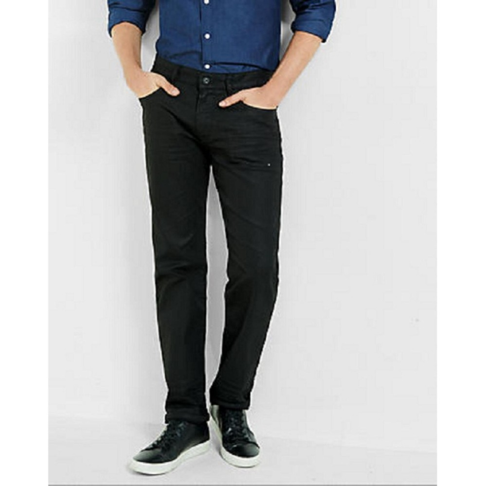 Cara Beli Texan Exclusive Denim Celana Jeans Panjang Standard Pria Warna Hitam Black Denim Big Size 33 34 35 36 37 38