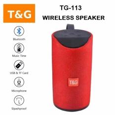 Toko Tg 113 Portable Wireless Bluetooth Mini Speaker Outdoor Dengan Splashproof Fungsi Dan 3D Sound System Intl Yang Bisa Kredit
