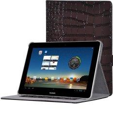 Pad Cover untuk HUAWEI MediaPad 10 Link + (Brown)-Intl