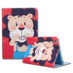 Dengan Penutup Bantalan untuk iPad Mini 4 (Merah)-Intl