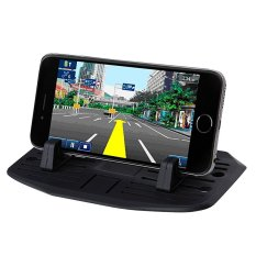Generasi Kedua Update Versi Car Mount. Car Silicone PadDash Mat Pemegang HP Cradle Dock untuk Smartphond dan Tablet P CETC-Intl