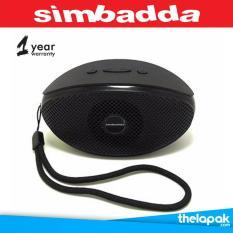 Thelapak Speaker Bluetooth Music Player Portable Simbadda CST 330N Original