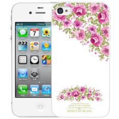 Thin Silicone TPU Cartoon Mountain Landscape Transparent Soft Phone Cover Case For Apple iPhone 4/