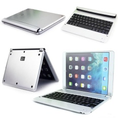 Tipis Smart Cover Nirkabel Stan Keyboard Bluetooth For IPad 6 Air 2