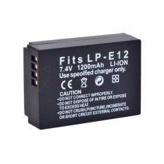 Third party Battery Canon LP-E12 - 1200mAH - For Canon EOS M-10