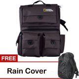 Diskon Third Party Tas Kamera Natgeo Cokelat Free Rain Cover Third Party Indonesia