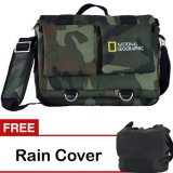Spesifikasi Third Party Tas Kamera National Geographic Army Gratis Rain Cover Terbaik