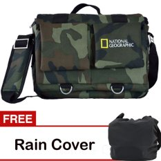Penawaran Istimewa Third Party Tas Kamera National Geographic Army Gratis Rain Cover Terbaru