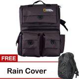 Beli Third Party Tas Kamera Ransel National Geographic Coklat Free Rain Cover Online Murah
