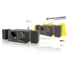 Thonet & Vander Speaker Grub 2.1 - 48 Watt - Hitam