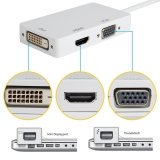 Spesifikasi Thunderbolt 3 In 1 Mini Displayport Ke Dvi Vga Hdmi Tv Av Hdtv Kabel Adaptor Kabel Converter For Mac Buku Imac Mac Book Air Mac Book Pro Dan Mac Permukaan Pro Multiport Kabel Konverter Hub Yg Baik