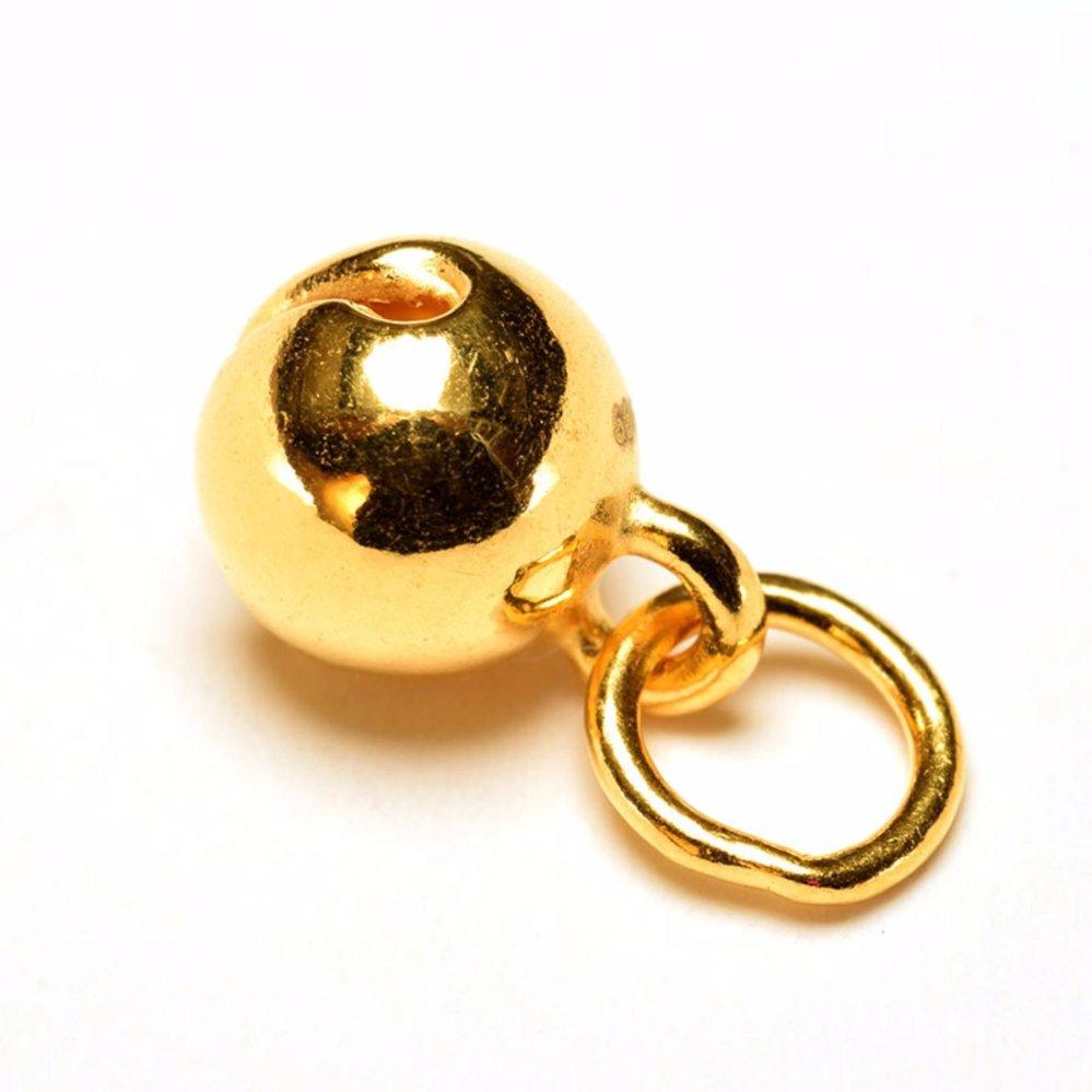 Harga Tiaria Golden Bell Gold Charm Pendant 24K Bandul Emas 24K Untuk Gelang Atau Kalung Bentuk Lonceng Baru Murah