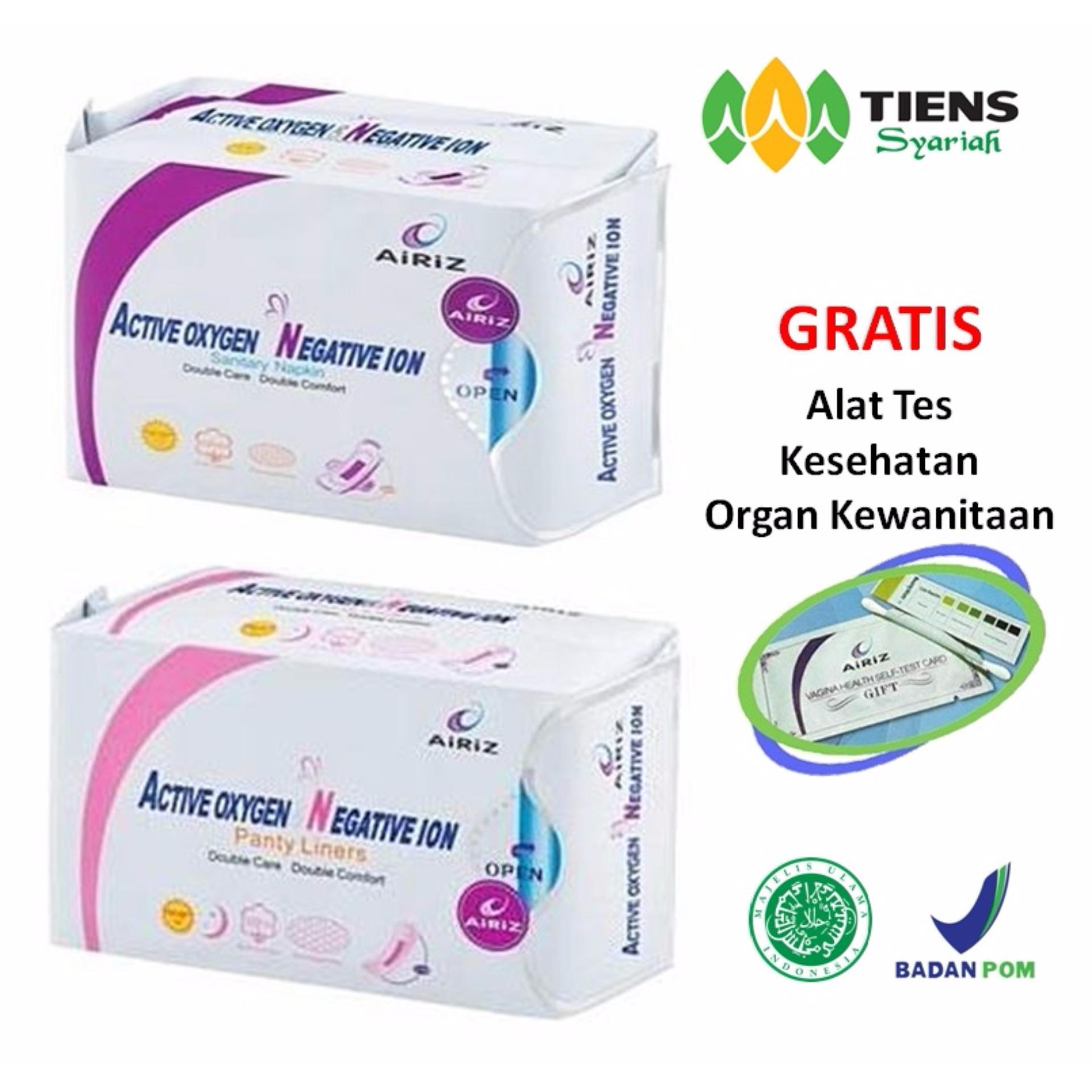 Review Toko Tiens Airiz Pembalut Kesehatan Untuk Siang Paket Hemat 1 Day 1 Panty 1 Member Card Th