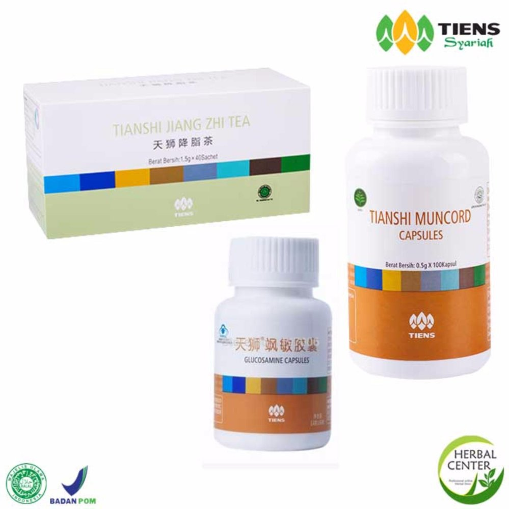 Tiens Asam Urat Paket Lengkap (Diskon) by TIENS HERBAL CENTER