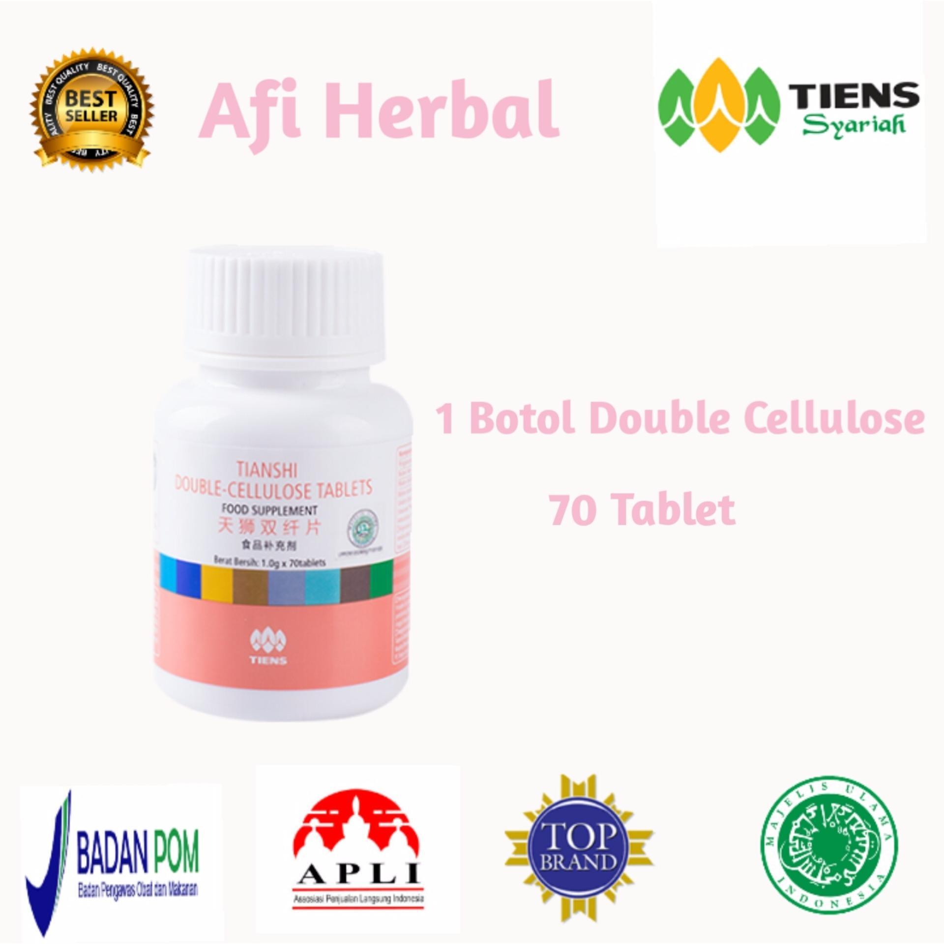 Harga Tiens Double Cellulose Serat Ganda Obat Herbal Wasir Ambeien Dan Pencernaan Termurah