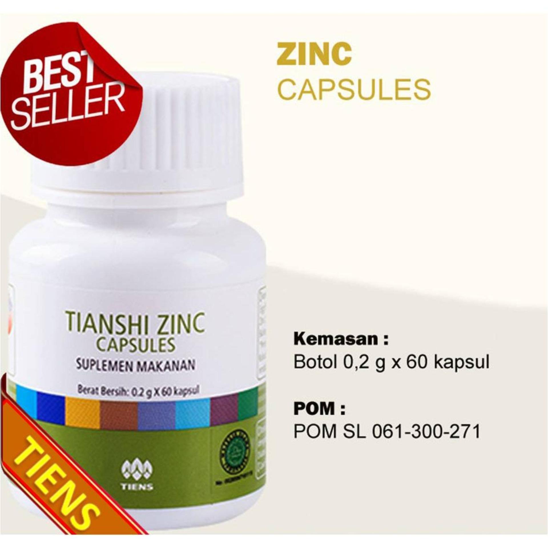 Harga Tiens Herbal Penambah Nafsu Makan Penggemuk Badan Zinc Isi 60 Kapsul By Espen Shop 012 Murah