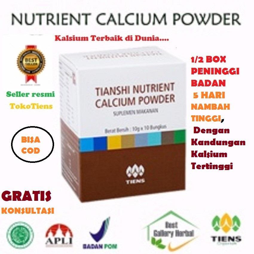 Harga Tiens Nhcp Nutrient Calcium Powder Murah 5 Sachet Kalsium Peninggi Badan Osteoporosis Jantung Sendi Rematik Pengapuran Patah Tulang Retak Terbaru