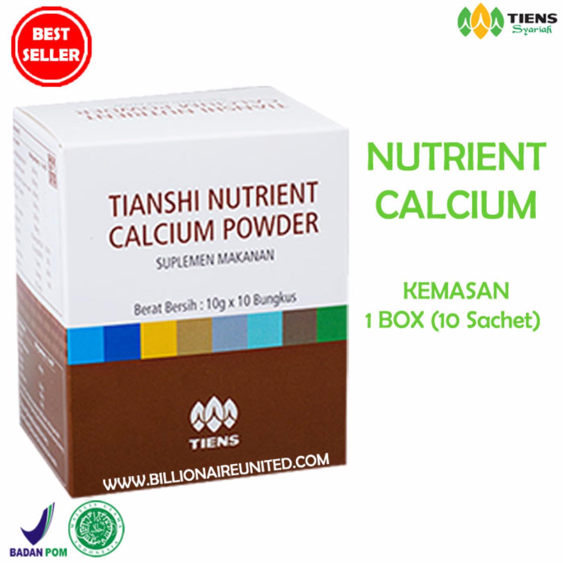 Harga Tiens Nutrient Calcium Powder Kalsium Untuk Tulang Patah Retak Osteoporosis Dan Peninggi Badan Tiens Baru