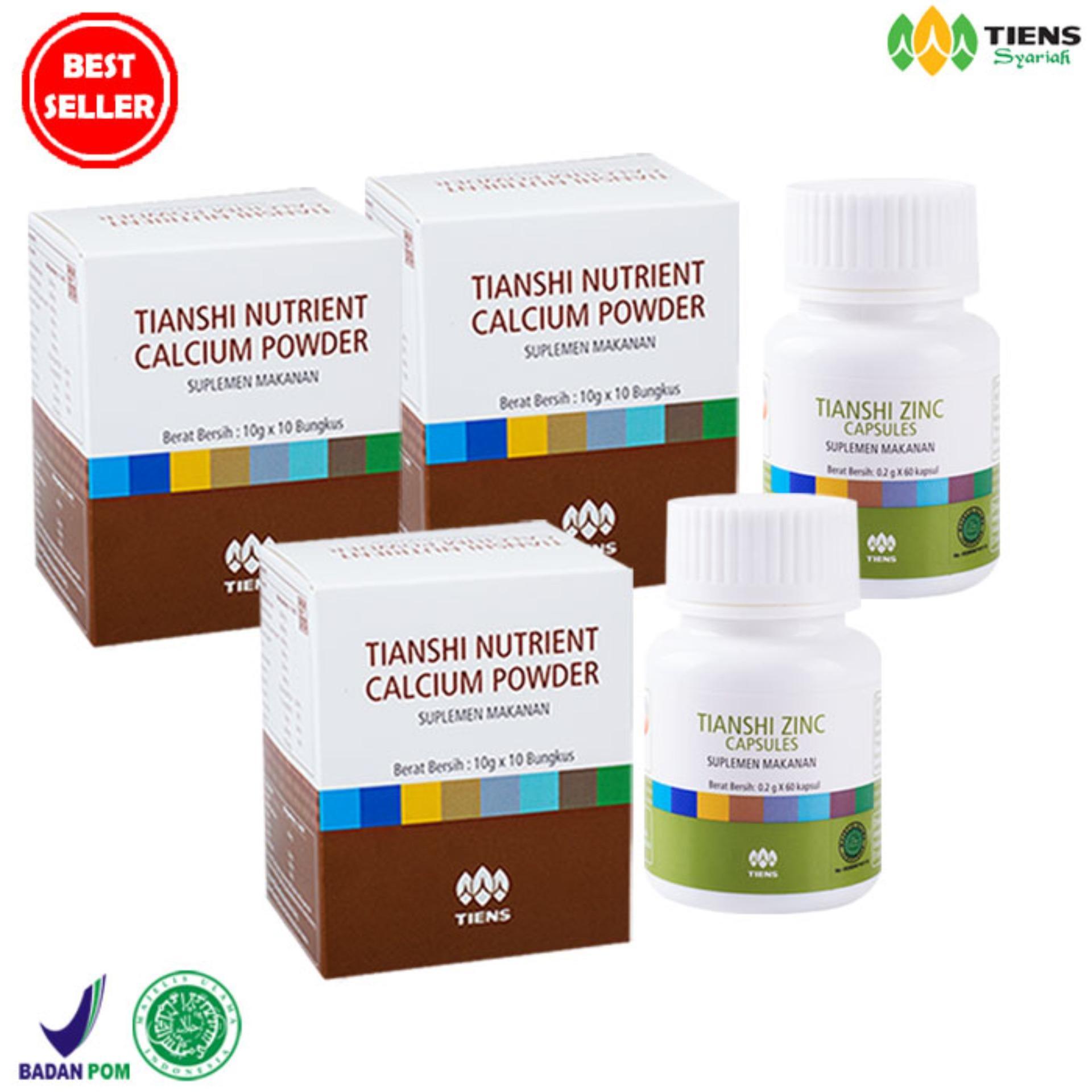 Tiens Paket Peninggi Badan Basic Free Kuas Masker Zinc Nutrient Tianshi Silver Calcium Powder Nhcp Kalsium Dewasa Herbal Ab1 Premium Original Source