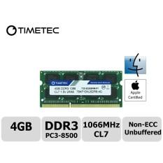 Timetec Hynix IC Apple 4 GB DDR3 PC3-8500 1066 MHz Upgrade Memori untuk iMac 20 Inch/21.5 Inch/ 24 Inch/27 Inch, macbook Pro 13 Inch/15 Inci/13 Inch, Mac Mini 2009 2010 (4 GB)-Intl