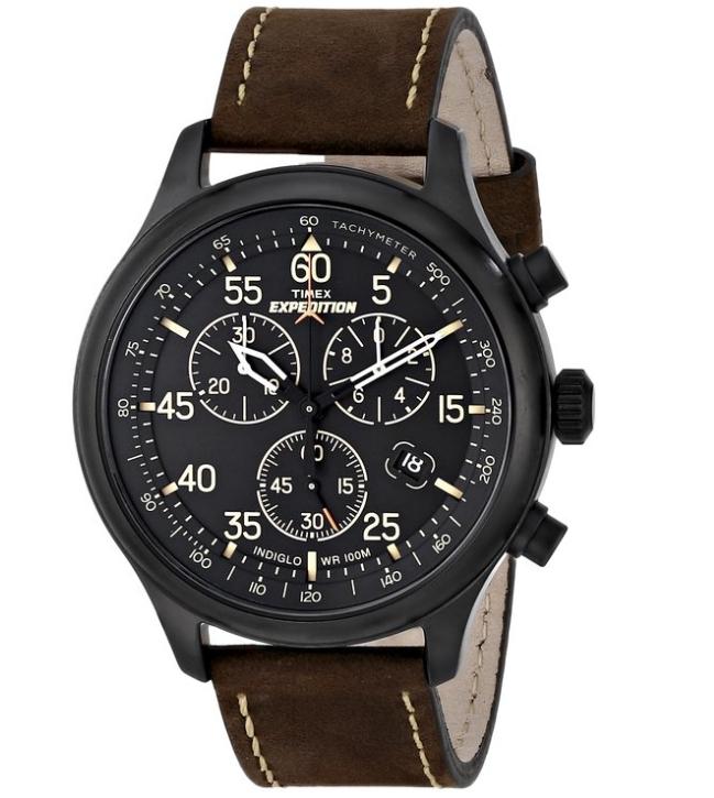 Timex Men's Bidang Chronograph Menonton-Internasional