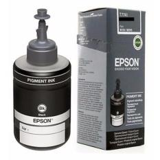Diskon Tinta Botol Epson T7741 Black Pigment Ink Original Hitam Branded