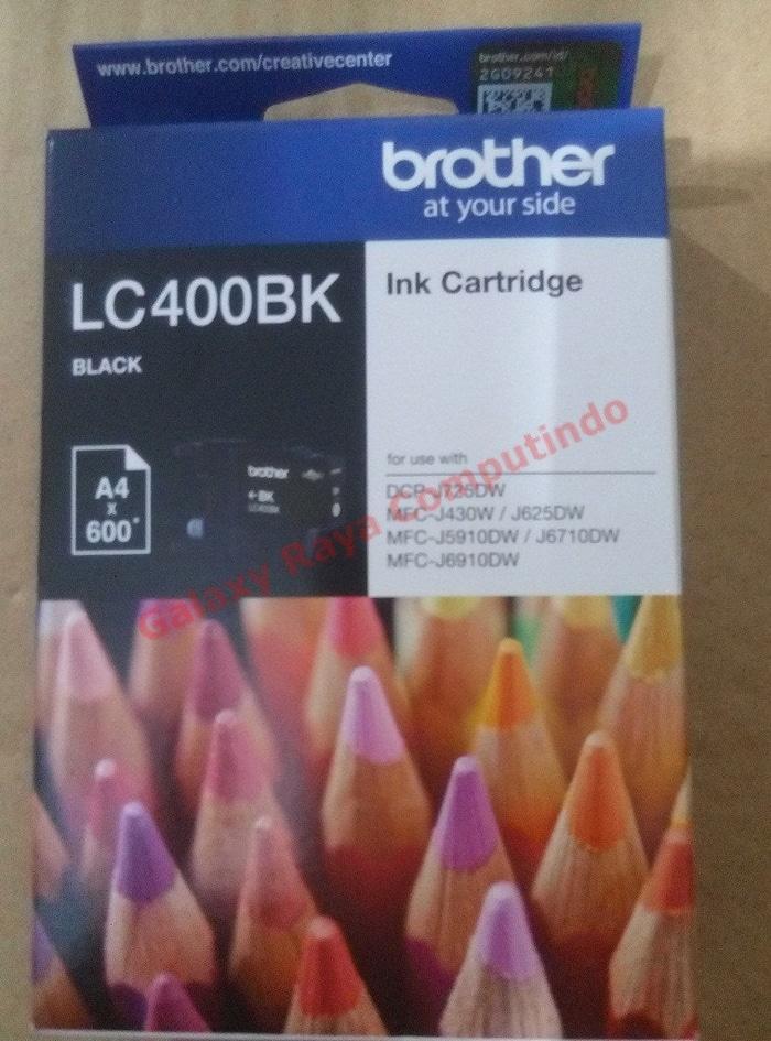 Tinta Brother LC400BK Black