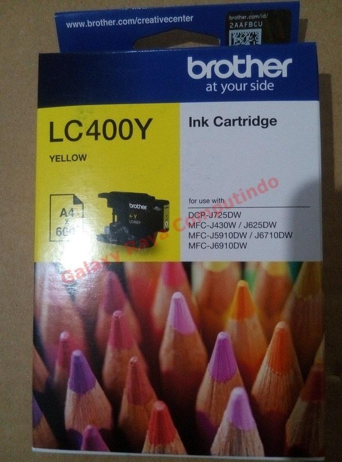 Tinta Brother LC400Y Yellow
