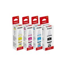 Tinta Canon Gi790 Original Full Set (Black, Cyan, Yellow, Magenta)