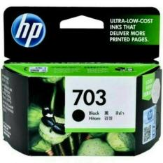 Jual Tinta Hp 703 Black Ink Cartridge Ori