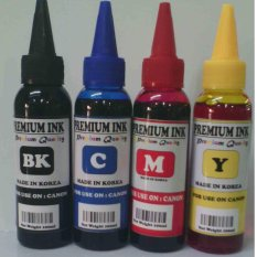 TINTA ISI ULANG / REFILL PRINTER CANON ISI 100ML ( PAKET 4 WARNA )