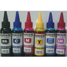 TINTA ISI ULANG / REFILL PRINTER EPSON 100ML ( PAKET 6 WARNA )