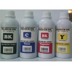 Beli Tinta Isi Ulang Refill Printer Epson 500 Ml Paket 4 Warna Online Terpercaya