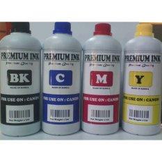 Jual Tinta Isi Ulang Refill Printer Canon 1 Liter Paket 4 Warna Di Bawah Harga