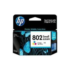 Tinta Printer - Cartrigde Hp 802 Colour - Original