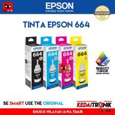 Tinta Printer EPSON 664 ORIGINAL L120 L220 L210 L310 L360 L210 INK
