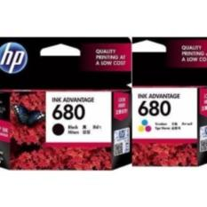 Tinta Printer HP 680 Black & Color ( 1 Set )