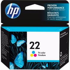 Spek Tinta Printer Hp22 Colour Original Hp