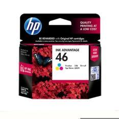 Harga Tinta Printer Inkjet Hp 46 Colour Original Catridge Terbaik