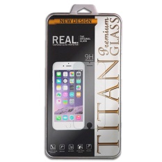 TITAN Glass for HTC One M7 - Premium Tempered Glass - Round Edge 2.5D - Bening